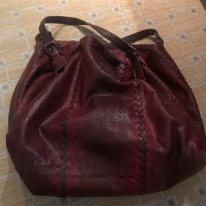 f55e68a994 Bottega Veneta Bags - Authentic Bottega Veneta reptile shoulder bag.